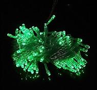 100 10m LED verde de Cordas Luz Decoração para casamento festa de Natal (220V)