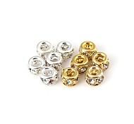 Diamond And Metallic Interval Beads (1pc)
