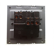 2-Pin And 3-Pin Durable Plug Scocket And Rocker Switch