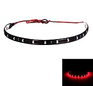 Red Car Merdia 2.5W 40LM 15x3528SMD LED Luces Decoración-30cm (12 V / 1 PCS)