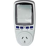 AU Socket Energy Power Watt Voltage Volt Meter Monitor Analyzer Meter Monitor