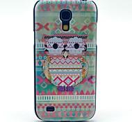 Племенной ковров Сова Pattern Жесткий задняя обложка чехол для Samsung Galaxy S4 Mini I9190