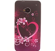 Romance Cardioid Design TPU Soft Case for HTC ONE M7