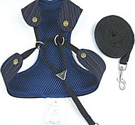 Cool Mesh Fabric Soft Net Harness with Leashes for Pets Dogs(Assorted Colors,Sizes)