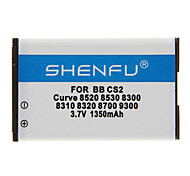 Shenfu 1350mAh batterie portable pour Blackberry Curve CS2 8520 8530 8300 8310 8320 8700 9300