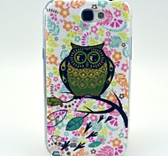 Soft Case Motif de hibou volumineux pour Samsung Galaxy Note N7100 2