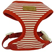 Adjustable Striped Sailor Dog Harness for Pets Dogs
