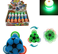 Sound and Light-up Football Style Peg-Top(Random Color)