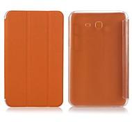 Funda de cuero Enkay Protección PU con el soporte para Samsung Galaxy Tab 3 Lite T110