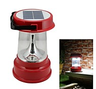 4-LED Solar Powered Camping Lantern  Emergency Light Outdoor Activties