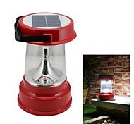 4-LED Solar Powered linterna que acampa Luz de emergencia exterior aledaños