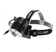 Rechargeable 3-Mode 3xCree XM-L2 T6 Waterproof Headlamp Set(3000LM)