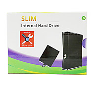 250GB Large Capacity Slim Internal HDD Enclosure Hard Drive Disk Disc for XBOX 360 Games Media Player