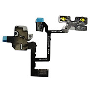 Reemplazo de auriculares Audio Jack Flex Cable para iPhone 4G (Negro)