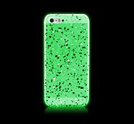 For iPhone 5 Case Glow in the Dark Case Back Cover Case Glitter Shine Hard PC iPhone SE/5s/5