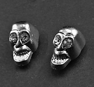 Punk Skull Magnetic Earrings(1 Pair)