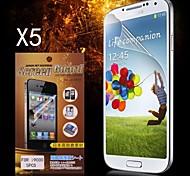 Protector HD protectora de pantalla para Samsung Galaxy S I9000 (5PCS)
