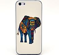 Tribal Impresión de patrón de elefante duro caso para iPhone 5C