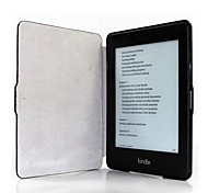 6 Colors Ultra Thin Protective PU Wake-up/Sleep Case for Kindle Paperwhite