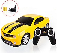 1:22 Radio Control Car  4CH Yellow LED headlights