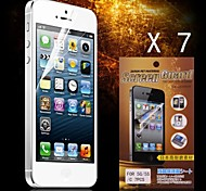 Protector HD protector de pantalla para iPhone 5/5S (7pcs)