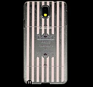 Giorno Back Cover in plastica trasparente Buon San Valentino per la nota Samsung GALAXY 3