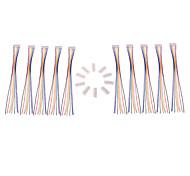 7S 20AWG Lipo balance de la batería del cargador del enchufe / cable de 8 pines (10 piezas)