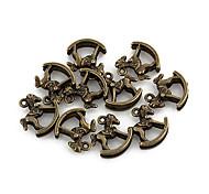 Tiny Pferd Bronze-Legierungs-Charme 10 Stück / Beutel