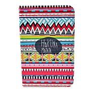 Tribal Carpet Hakuna Matata Patroon Full Body Case met standaard voor Samsung Galaxy Tab 2 7.0 P3100