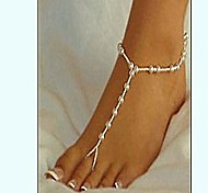 Elegrant Translucent Pearl Barefoot Sandals*1pc