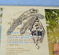 la mode shixin® The Elder Scrolls forme de dragon collier en argent pendentif en alliage (1 pc)