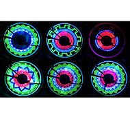 FJQXZ 36 LED Bicycle Wheel Spoke Decoração colorida LED Light