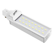 G24 8 W 12 SMD 5630 600 LM Cool White T Corn Bulbs AC 85-265 V