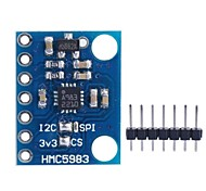 GY-282 модуль HMC5983 высокоточным трехосевой магнитный электронный компас модуль