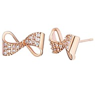 Fashion Jewelry  women's Stud Earring  Gold  Plated  Earring