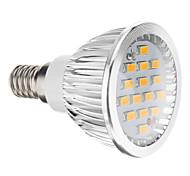 6W E14 / GU10 / GU5.3(MR16) / E26/E27 Focos LED 15 SMD 5730 380 lm Blanco Cálido / Blanco Fresco AC 100-240 V