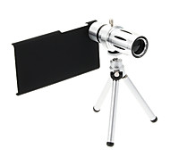 Zoom 12X Telephoto Metal Cellphone Lens with Tripod for Xiaomi M3