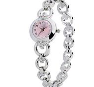 Time100 Women Fashional Alloy Band Metal Dial Jewelry Chain Ladies' Dress Quartz Watch