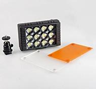 WanSen 12 12 LED Video Light 10W 5600K/3200K CameraLight for Canon Nikon DSLR Camera Camcorder