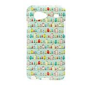 Cartoon Bird Pattern TPU Soft Case for Samsung Galaxy S Advance i9070