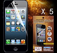 Protective HD Screen Protector for iPhone 4/4S(5PCS)