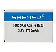 SHENFU 1700mAh Cellphone Battery for Samsung Admire R720