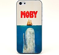 Moby Eat Ship Pattern Hard Case for iPhone 5C