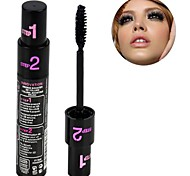 New Long Curling Eyelash Black Fiber Mascara Eye Lashes Makeup 6681