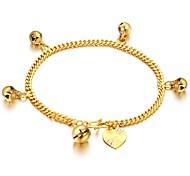 Beautiful Jewelry 18 K GoldBells Fine Lady Bracelet