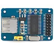 Módulo D108054 DIY CH375B USB Flash Drive de Lectura / Escritura