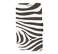 For Nokia Case Card Holder / Flip Case Full Body Case Black & White Hard PU Leather Nokia Nokia Lumia 520