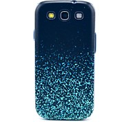 Glowing Star Plastic Fragment Pattern Hard Back Case Cover for Samsung Galaxy S3 I9300