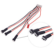 Blade 130* Battery Charger Wire 1 Trailer 3 Balance Charging Wire 6S Balance Port