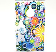 Daisy Droplets Pattern Hard PC Cover Case for Nokia Lumia 1520